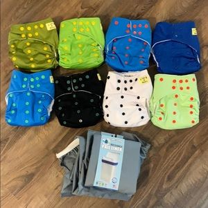 Little Monsters All-in-One Cloth Diapers